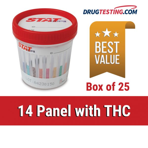 14 panel drug test cups