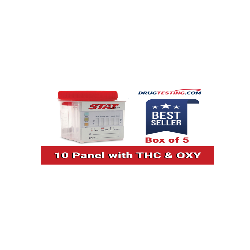 What is a 10 Panel Drug Test with THC and OXY?